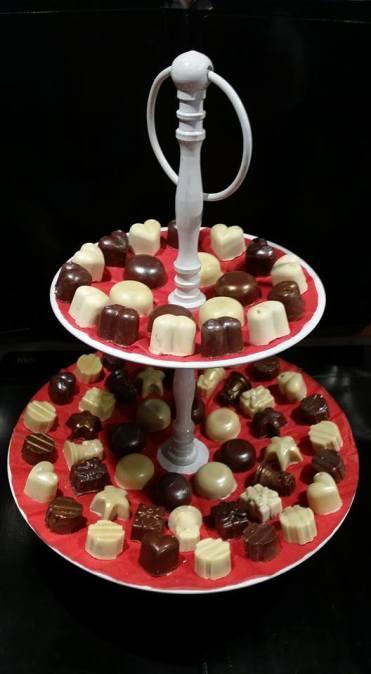 Chocolat De Noel Fait Maison Bonbons En Chocolat Au Peche Gourmand