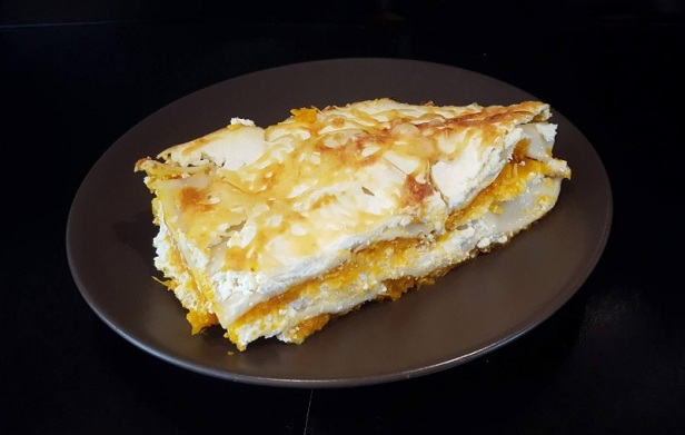 Lasagne végétarienne potiron ricotta